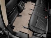 Коврики WEATHERTECH для Nissan Pathfinder задние, цвет бежевый