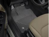 Коврики WEATHERTECH для Jeep RENEGADE резиновые, передние, цвет черный