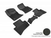 """Коврики """"3D MAXpider"""" для Jaguar  F-PACE, цвет черный"""