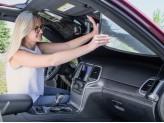 Солнцезащитный экран на лобовое стекло Cadillac Escalade ESV, цвет серебристый/черный, изображение 5
