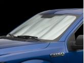 Солнцезащитный экран на лобовое стекло Chrysler 300/300C, цвет серебристый/черный