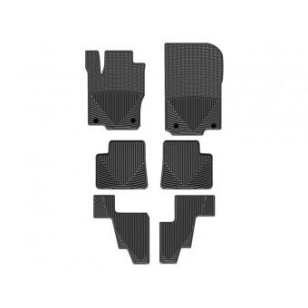 Коврики WEATHERTECH резиновые для Mercedes-Benz GL/GLS, цвет черный