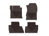 Коврики WEATHERTECH резиновые для BMW X4, цвет коричневый
