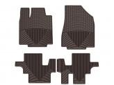 Коврики WEATHERTECH для Infiniti JX (QX60) резиновые, цвет черный 1-ый и 2-ой ряд (доступны к заказу коричневые, бежевые и серые), изображение 2