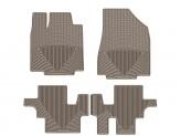 Коврики WEATHERTECH для Infiniti JX (QX60) резиновые, цвет черный 1-ый и 2-ой ряд (доступны к заказу коричневые, бежевые и серые), изображение 3