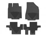 Коврики WEATHERTECH для Infiniti JX резиновые, цвет черный 1-ый и 2-ой ряд