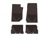 Коврики WEATHERTECH резиновые для Jeep Wrangler JK Unlimited / Wrangler Unlimited , цвет коричневый