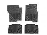 Коврики WEATHERTECH для Jeep Wrangler JL резиновые, цвет черный