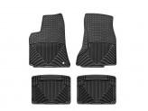 Коврики WEATHERTECH резиновые для Chrysler 300/300C / Dodge Charger / Dodge Magnum, цвет черный