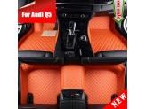 """""""Кожаные"""" коврики для Audi Q5 в салон, цвет черный, изображение 8"""
