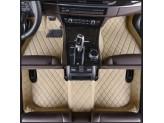 """""""Кожаные"""" коврики из высокосортного полиуретана для Volkswagen Touareg в салон, цвет черный, изображение 3"""