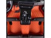 """""""Кожаные"""" коврики из высокосортного полиуретана для Toyota Landcruiser 200 в салон, цвет черный (для мод. с 2012 г.), изображение 7"""
