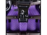 """""""Кожаные"""" коврики из высокосортного полиуретана для Toyota Landcruiser 200 в салон, цвет черный (для мод. с 2012 г.), изображение 6"""