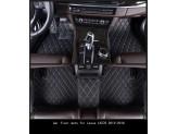 """""""Кожаные"""" коврики из высокосортного полиуретана для Volkswagen Touareg в салон, цвет черный, изображение 2"""