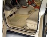 """Коврики """"Sotra 3D"""" для Chevrolet Tahoe текстильные """"LINER 3D Lux"""" с бортиком, цвет бежевый"""