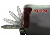 """Амортизаторы для плавного открывания заднего борта """"Assist"""" для Isuzu D-MAX 2012-"""