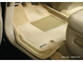 """Коврики """"Sotra 3D"""" для BMW X5 текстильные """"LINER 3D VIP"""" с бортиком, цвет бежевый"""