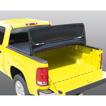 """Крышка виниловая на Chevrolet Silverado, трехсекционная, цвет черный (5,5"""")"""