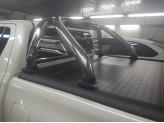 """Крышка на Toyota HiLux """"ROLL-ON"""" с дугой со стоп сигналом, изображение 3"""