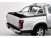 """Крышка на Isuzu D-MAX """"TOP ROLL"""" с защитной дугой, цвет серебристый"""