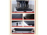 Крышка пикапа для Ssang Yong Actyon Sport, трехсекционная, алюминиевая, цвет черный, изображение 5