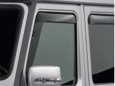 Дефлекторы боковых окон WEATHERTECH для Mercedes-Benz G-class 463, передние 2 ч.