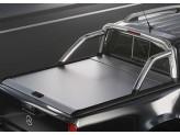 """Крышка для Mercedes-X-Class """"TOP ROLL"""" с защитной дугой, цвет серебристый"""