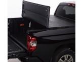 Крышка виниловая на Dodge Ram, трехсекционная, цвет черный