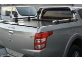 """Крышка для Mitsubishi L200 """"ROLL-ON"""" цвет черный с дугой CR004"""