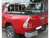 """Крышка для Toyota HiLux """"ROLL-ON"""" с дугой CR004 (электростатическая покраска), изображение 2"""
