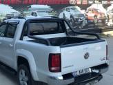 """Защитная дуга """"Canyon Black"""" для Fiat Fullback в кузов пикапа 70 мм"""