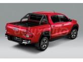 Защитная дуга для Isuzu D-MAX в кузов пикапа, цвет черный 2013 г.-