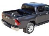 """Крышка на Toyota HiLux серия """"SOT-ROLL"""" , цвет черный матовый, изображение 3"""