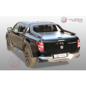 """Крышка Mountain Top для Fiat Fullback """"TOP ROLL"""", цвет серебристый (под ориг. дугу)"""