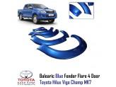 Расширители колесных арок для Toyota HiLux из 6-ти частей для Double Cab, цвет серый