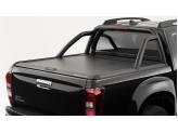 """Крышка на Isuzu D-MAX """"TOP ROLL"""" с защитной дугой, цвет черный"""