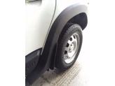 Расширители колесных арок для Renault Duster из 4-х частей