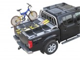 """Крышка на Toyota HiLux серия """"SOT-ROLL"""" цвет черный, изображение 4"""