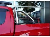 """Крышка пикапа для на Fiat Fullback """"ROLL-ON"""" с дугой CR003 (цвет черный, электростатическая покраска), изображение 2"""