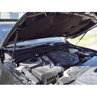 Упор капота для Mercedes-Benz X-Class (комплект)