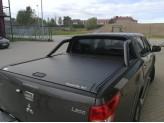 """Крышка для Fiat Fullback """"TOP ROLL"""", цвет черный c защитной дугой"""