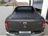 """Крышка Mountain Top для Fiat Fullback """"TOP ROLL"""", цвет черный c защитной дугой, изображение 3"""
