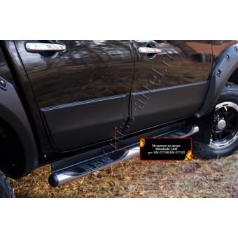 Молдинги на двери Fiat Fullback