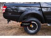 Молдинги задних крыльев Fiat Fullback, изображение 2