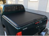 """Крышка Mountain Top на Toyota HiLux (Revo) """"TOP ROLL"""" цвет черный, изображение 3"""
