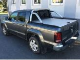 """Крышка Mountain Top для Volkswagen Amarok """"TOP ROLL"""", цвет серебристый c защитной дугой, изображение 2"""