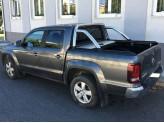 """Крышка Mountain Top для Volkswagen Amarok """"TOP ROLL"""", цвет серебристый c защитной дугой, изображение 5"""