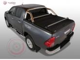 """Крышка Mountain Top для Toyota HiLux """"TOP ROLL"""" c защитной дугой"""