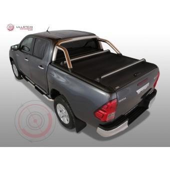 """Крышка Mountain Top для Toyota HiLux """"TOP ROLL"""" c защитной дугой (рейлинги поставляются отдельно)"""