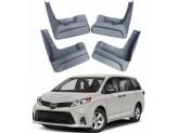 Комплект брызговиков на Toyota Sienna для SE